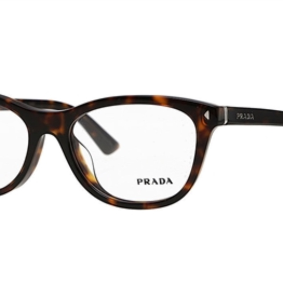 67681143659 Prada VPR 05R Havana   Demo Lens 53mm Eyeglasses